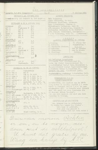 Bulletins (vnl. opstellingen) 1958-10-07