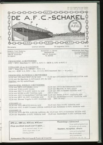 Schakels (clubbladen) 1978-08-30