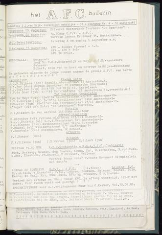 Bulletins (vnl. opstellingen) 1965-08-18