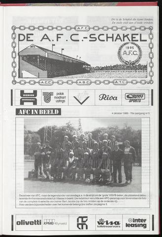 Schakels (clubbladen) 1989-10-04