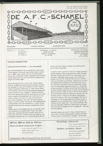 Schakels (clubbladen) 1978-09-06