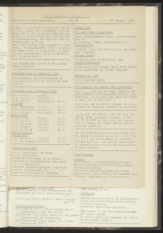 Bulletins (vnl. opstellingen) 1952-01-29
