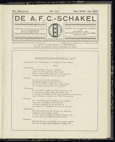 Schakels (clubbladen) 1936-12-01