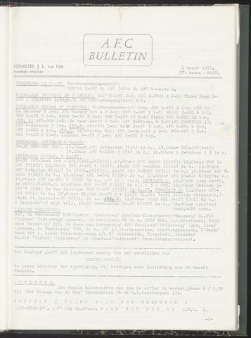Bulletins (vnl. opstellingen) 1972-03-01