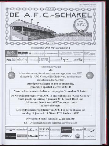 Schakels (clubbladen) 2013-12-18