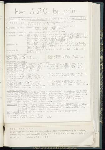 Bulletins (vnl. opstellingen) 1965-03-10