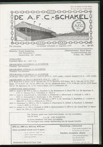 Schakels (clubbladen) 1976-08-11