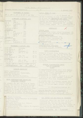 Bulletins (vnl. opstellingen) 1955-01-04
