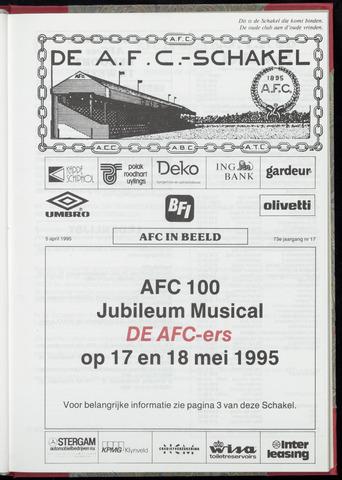 Schakels (clubbladen) 1995-04-05