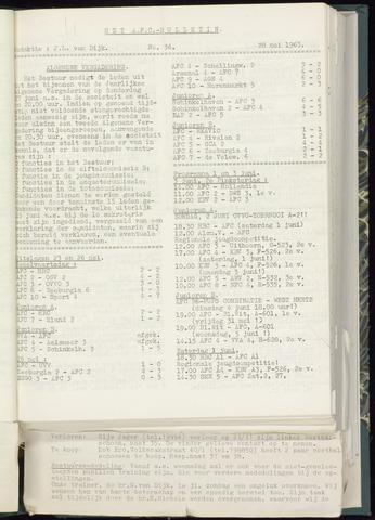 Bulletins (vnl. opstellingen) 1963-05-22