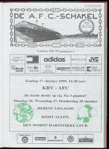 Schakels (clubbladen) 1999-10-14