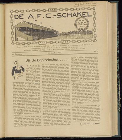 Schakels (clubbladen) 1953-09-01