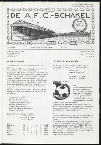 Schakels (clubbladen) 1982-05-12