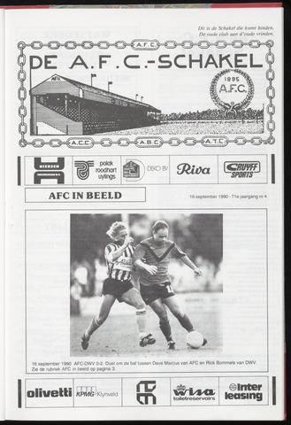Schakels (clubbladen) 1990-09-19
