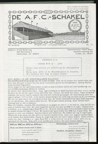Schakels (clubbladen) 1976-04-27