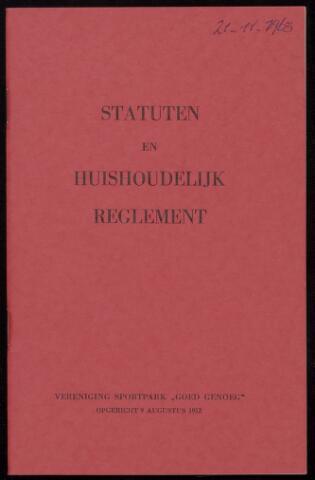 Statuten en reglementen 1963-11-21