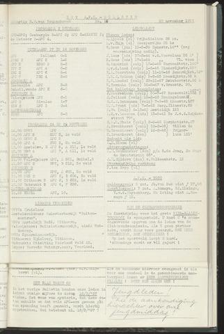 Bulletins (vnl. opstellingen) 1956-11-20