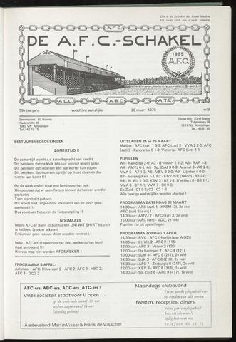 Schakels (clubbladen) 1979-03-28