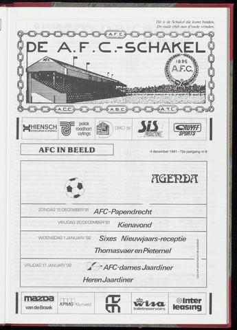 Schakels (clubbladen) 1991-12-04