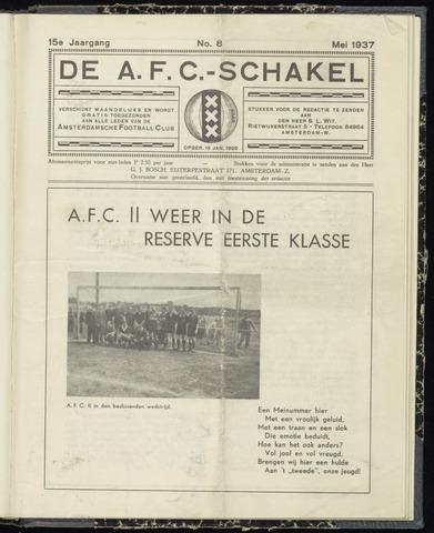 Schakels (clubbladen) 1937-05-01