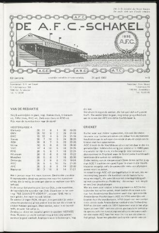 Schakels (clubbladen) 1982-04-21