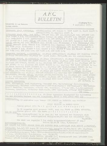 Bulletins (vnl. opstellingen) 1972-09-06