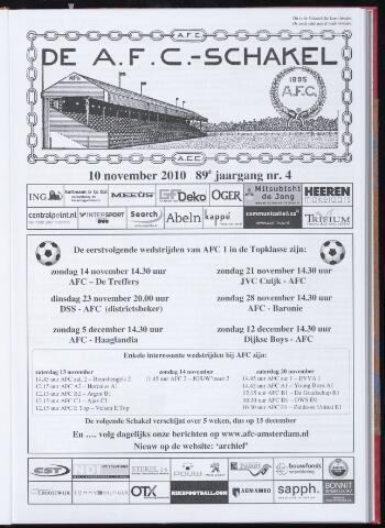 Schakels (clubbladen) 2010-11-10