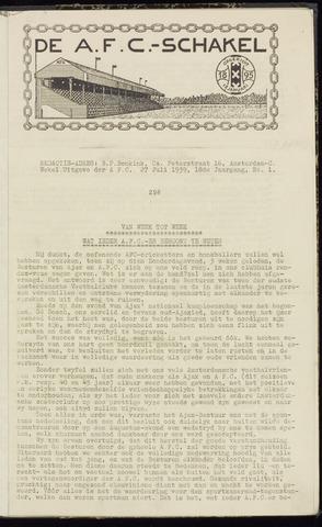 Schakels (clubbladen) 1939-07-27