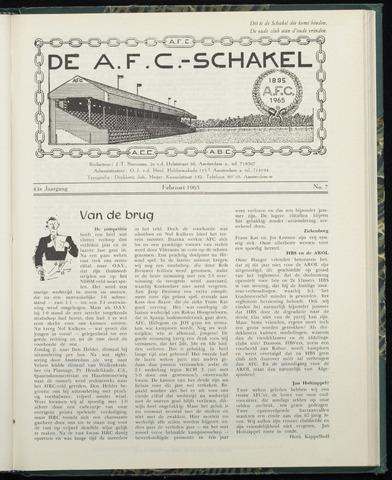 Schakels (clubbladen) 1965-02-01