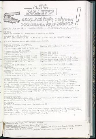 Bulletins (vnl. opstellingen) 1966-12-07