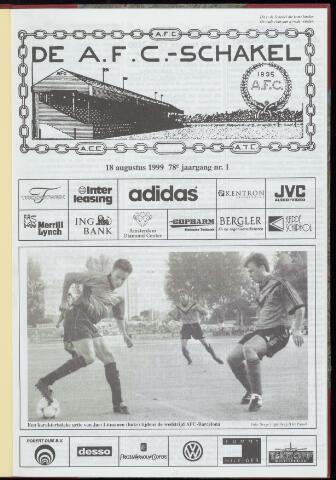 Schakels (clubbladen) 1999-08-18
