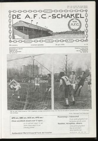Schakels (clubbladen) 1979-04-25