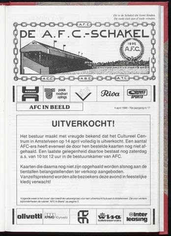 Schakels (clubbladen) 1990-04-04