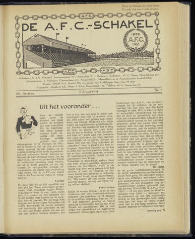 Schakels (clubbladen) 1951-02-01