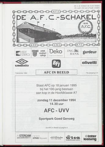 Schakels (clubbladen) 1994-12-07