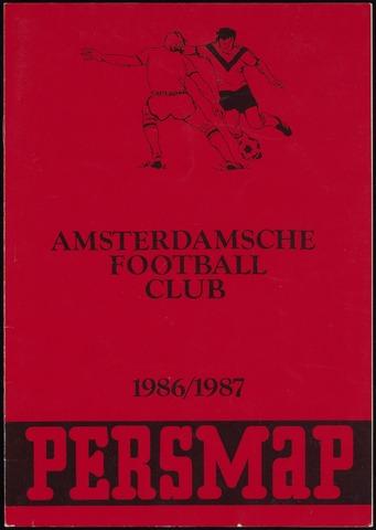 Persmappen 1986-09-01
