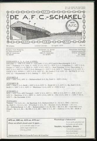 Schakels (clubbladen) 1978-04-12