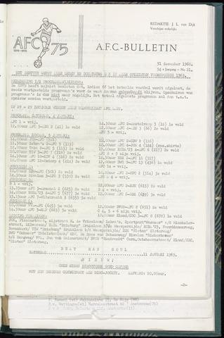 Bulletins (vnl. opstellingen) 1968-12-31