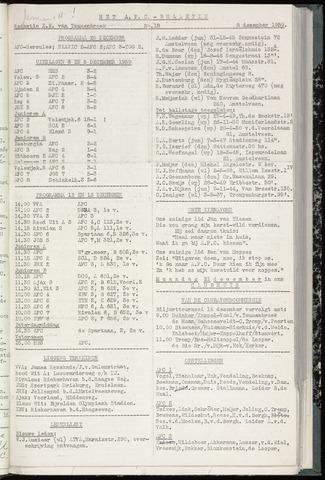 Bulletins (vnl. opstellingen) 1959-12-08