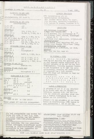 Bulletins (vnl. opstellingen) 1961-05-10