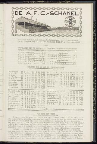 Schakels (clubbladen) 1939-02-23