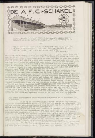 Schakels (clubbladen) 1939