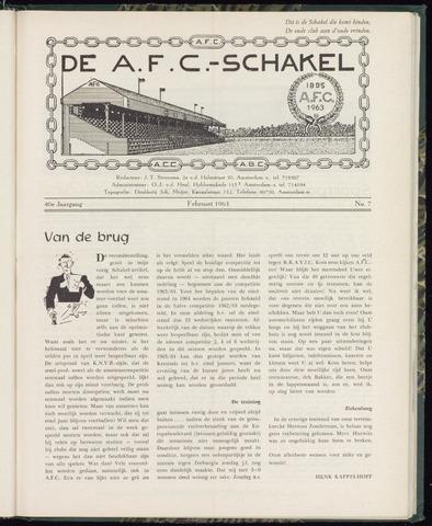 Schakels (clubbladen) 1963-02-01