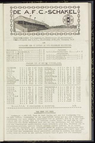 Schakels (clubbladen) 1938-10-20