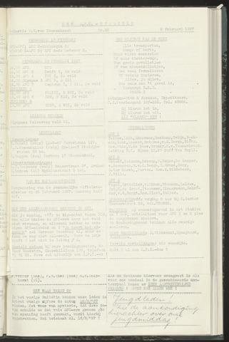 Bulletins (vnl. opstellingen) 1957-02-05