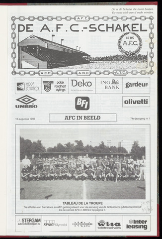 Schakels (clubbladen) 1995-08-16