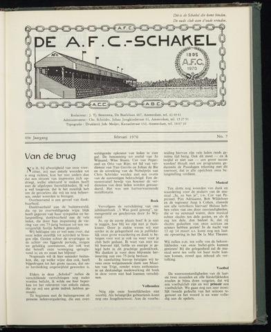 Schakels (clubbladen) 1970-02-01