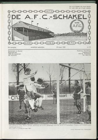 Schakels (clubbladen) 1981-03-25