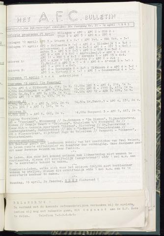 Bulletins (vnl. opstellingen) 1965-04-14