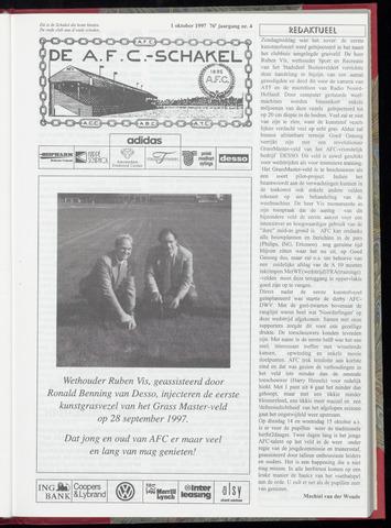 Schakels (clubbladen) 1997-10-01